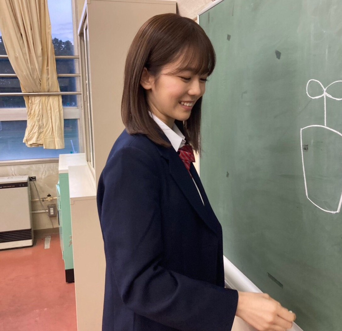 川口葵の笑顔がかわいい
