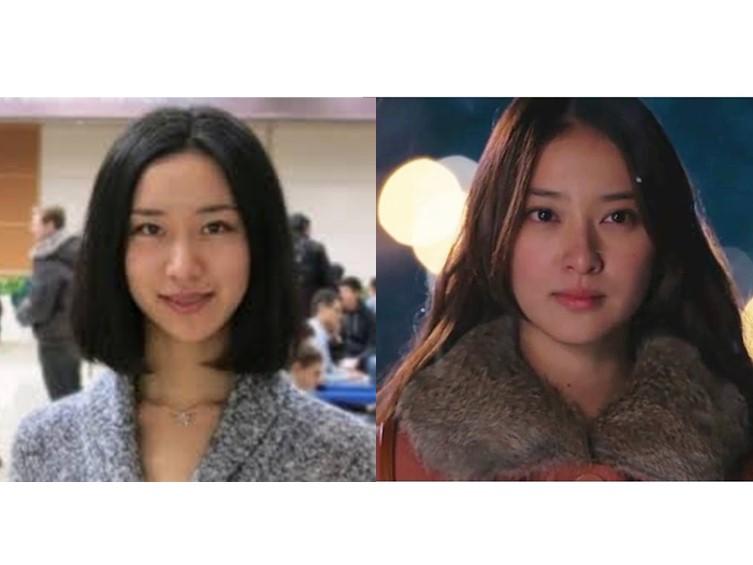 三浦瑠麗と武井咲の顔