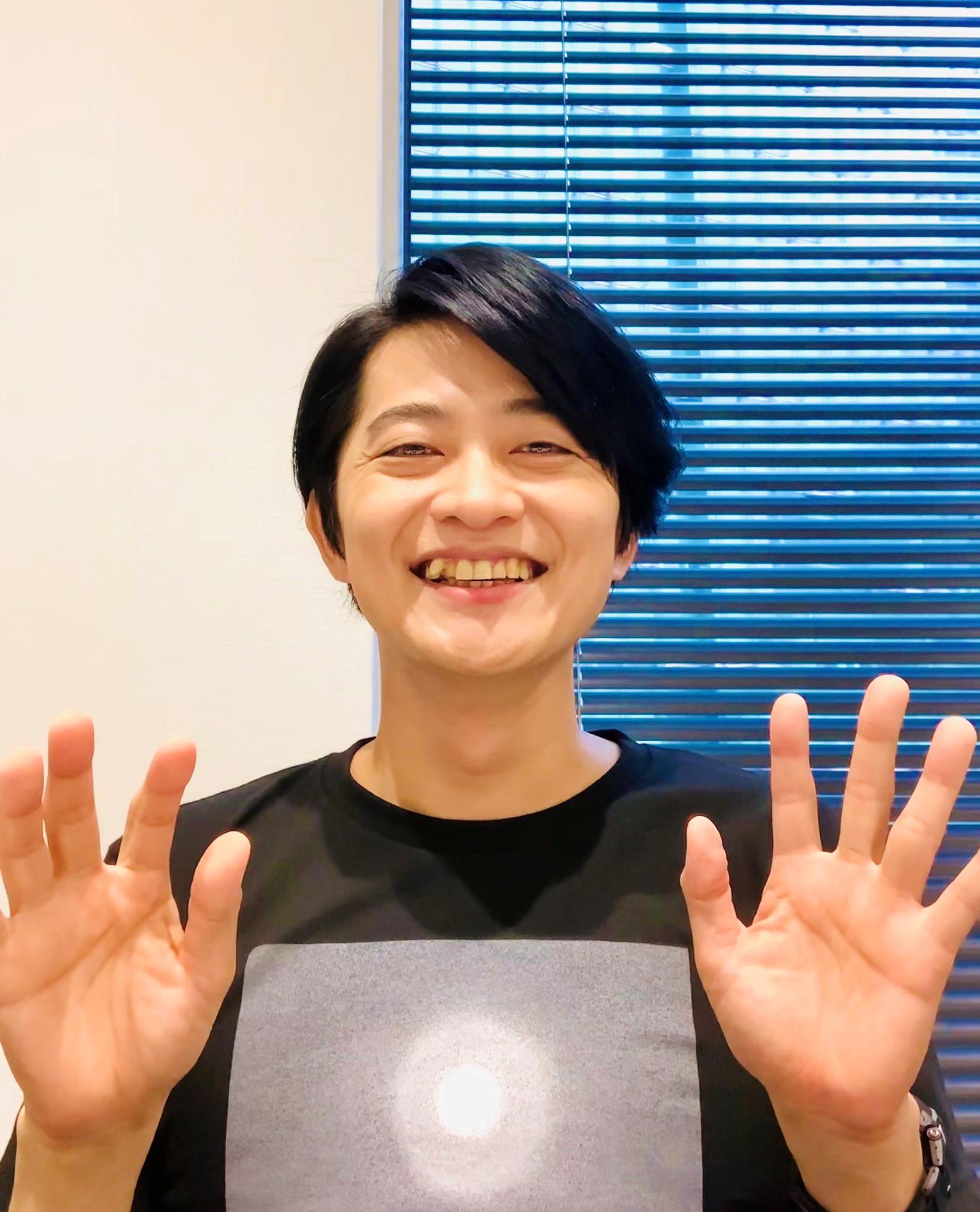 声優・下野紘の顔