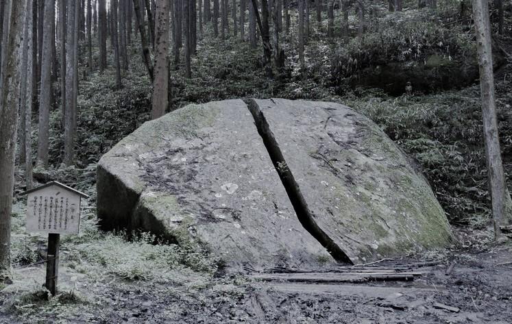 鬼滅の刃・聖地巡礼・奈良・一刀石