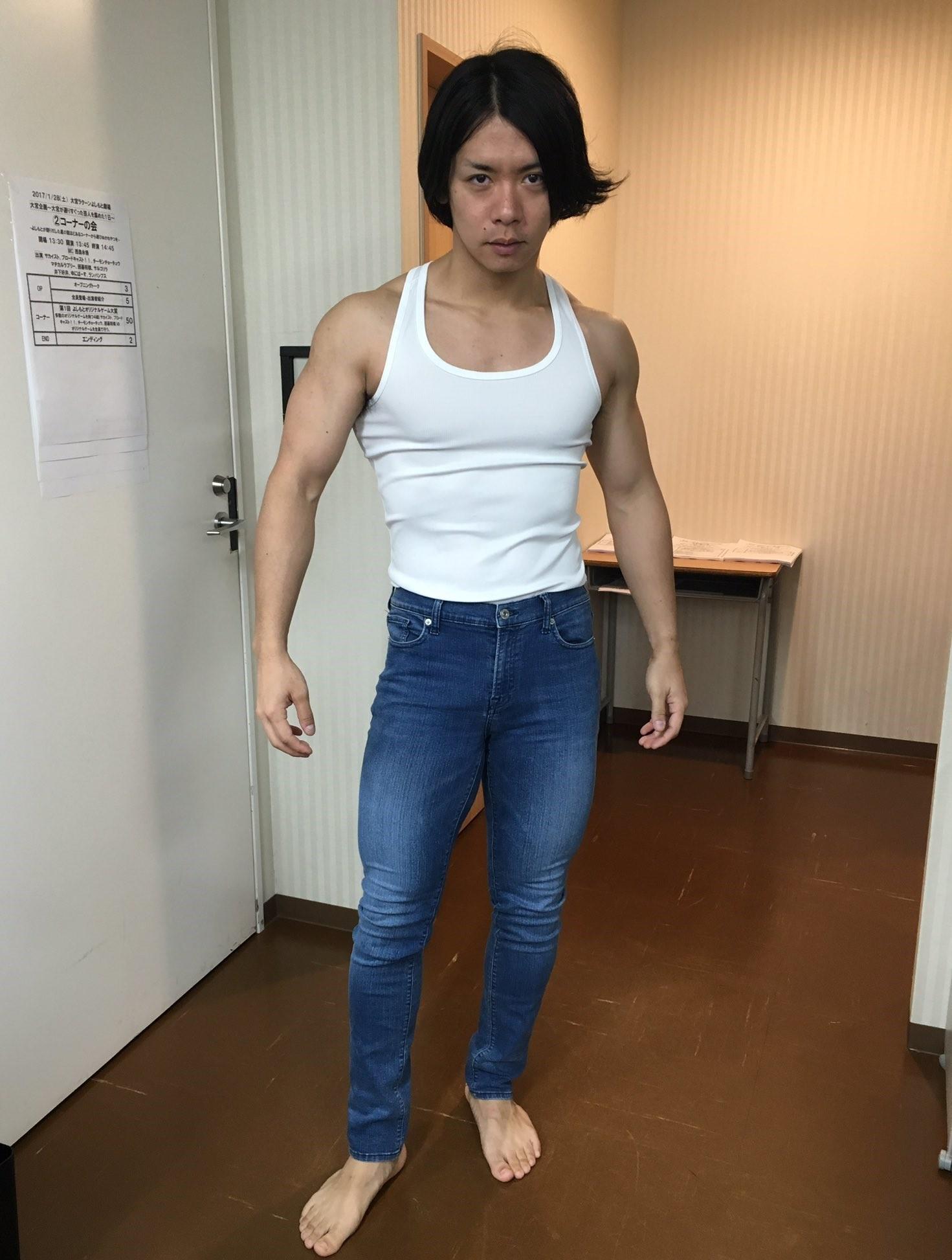 野田クリスタルの筋トレ