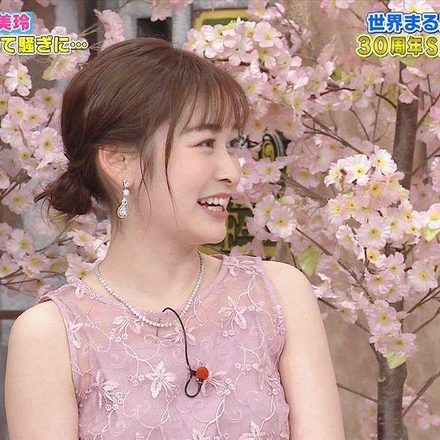 岩田絵里奈アナの胸のカップ数