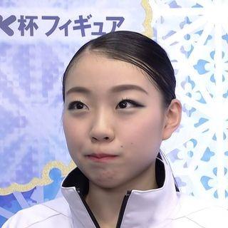 紀平梨花のかわいい顔