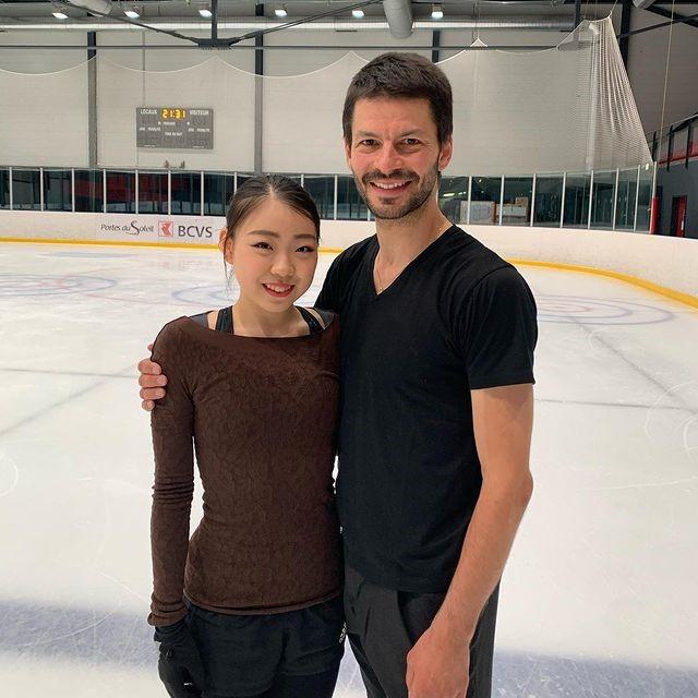 紀平梨花と新コーチ