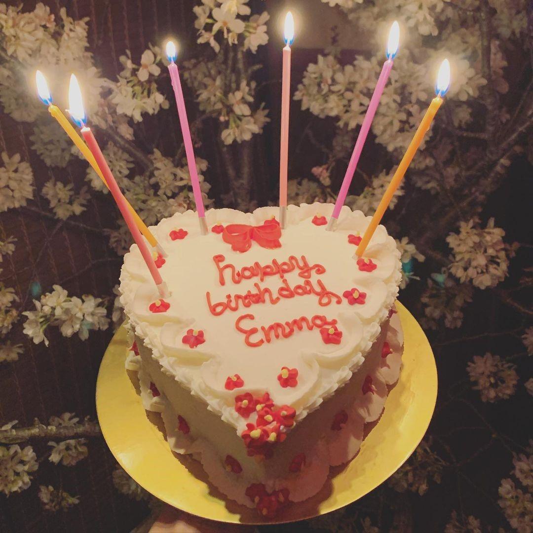 emma誕生日ケーキ