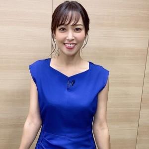 鷲見玲奈アナ・バスト・ニット・カップ・カップ数・カップサイズ・3サイズ