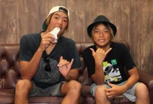 五十嵐カノア選手と弟キアヌのイケメン顔画像