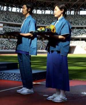 東京五輪の表彰式の衣装はなぜ
