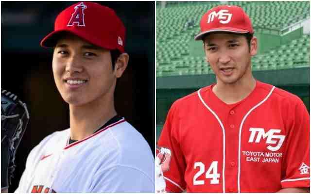 大谷翔平と兄、龍太の顔が似てる