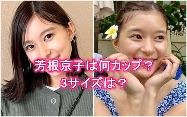 芳根京子の胸は何カップ・バストサイズ・3サイズ