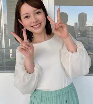 渡辺瑠海アナの胸は何カップ