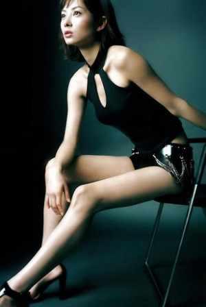 伊東美咲の昔の写真:美脚