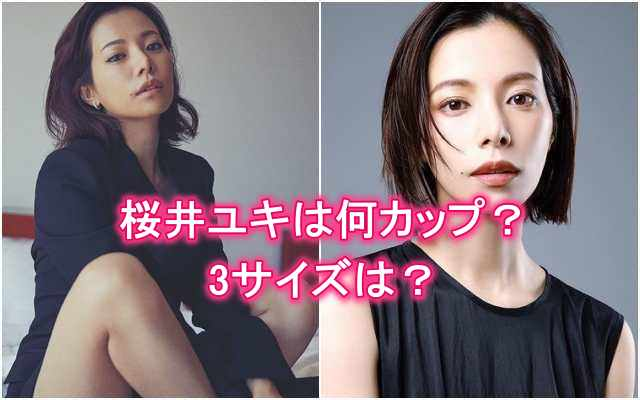 桜井ユキの胸カップ数・バストサイズ・3サイズ・水着・下着・グラビア