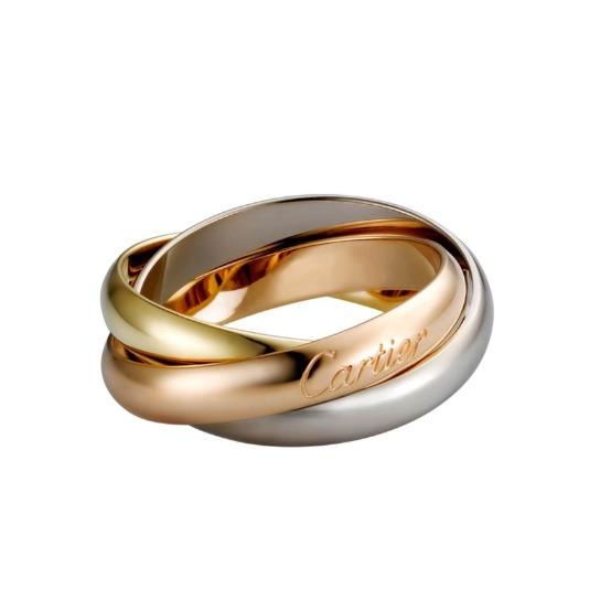 カルティエの指輪:トリニティリング