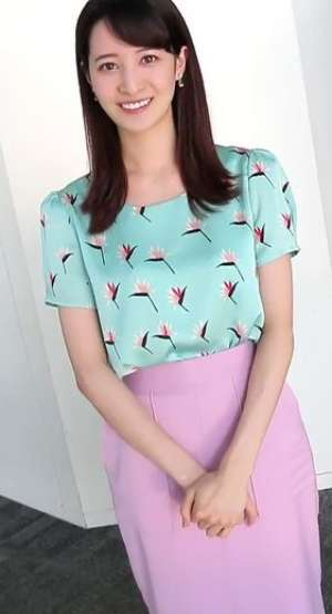 後呂有紗アナの胸のカップサイズ