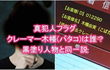 真犯人フラグ・クレーマー木幡(ばたこ)香理奈・菱田・黒幕